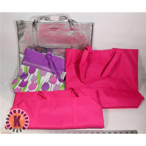 3 CLINIQUE FASHION BAGS
