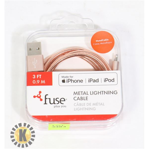 FUSE METAL LIGHTNING CABLE