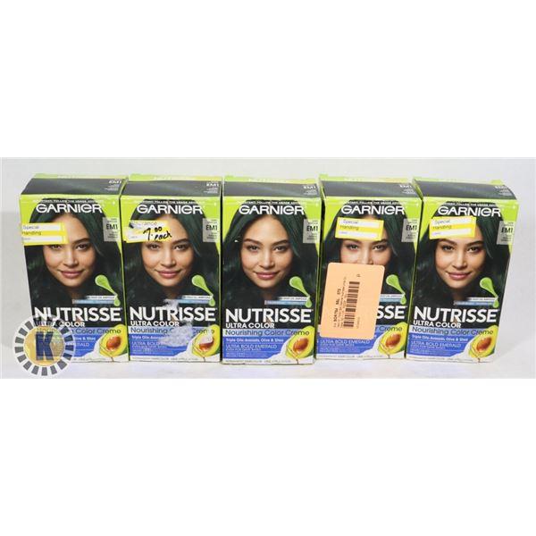 5 GARNIER NUTRISSE ULTRA HAIR COLOR