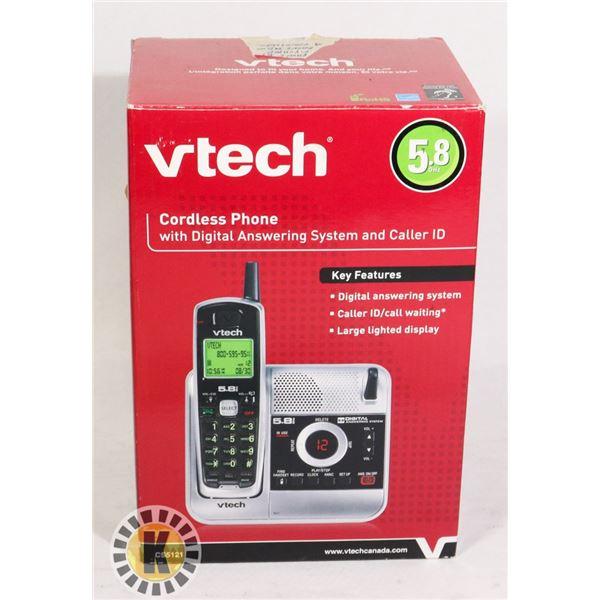 VTEC CORDLESS PHONE 5.8GHZ