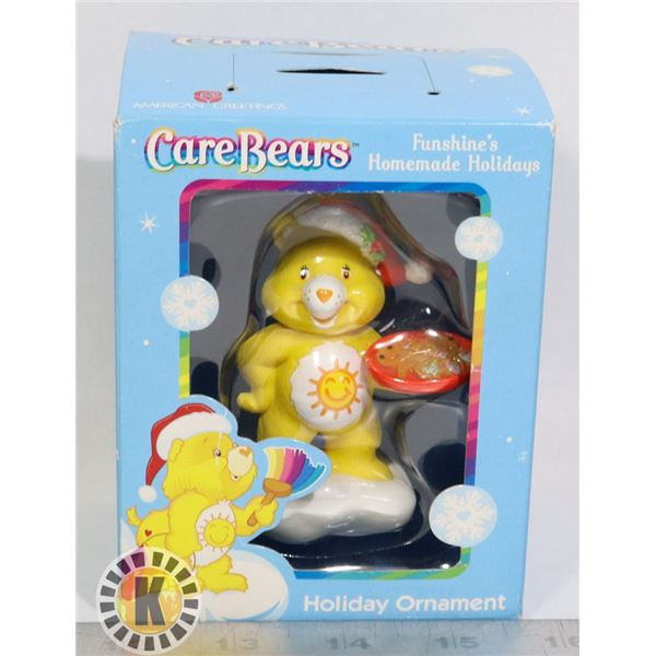 CARE BEARS SUNSHINE BEAR CHRISTMAS ORNAMENT