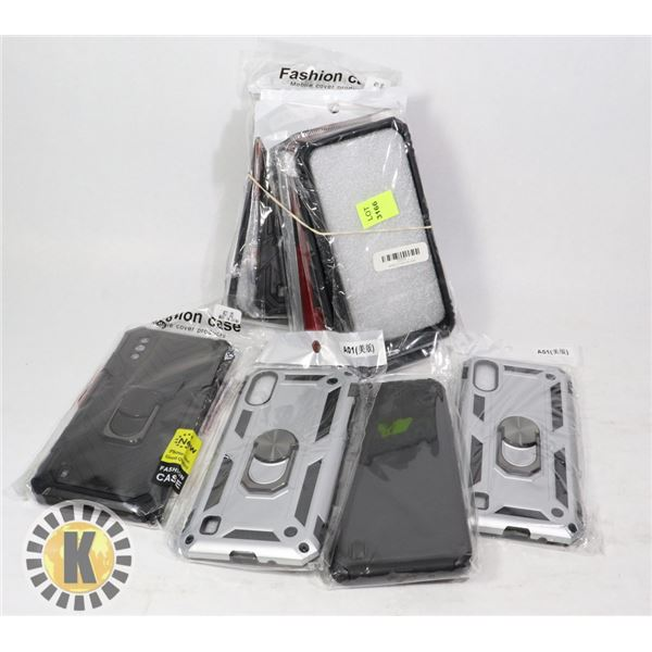 BUNDLE OF IPHONE AND ANDROID CASES
