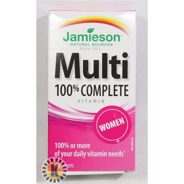 BOTTLE OF JAMIESON MULTI COMPLETE FOR WOMEN
