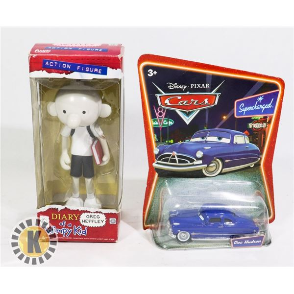 FIGURES- DOC HUDSON& DIARY OF A WIMPY KID & MORE