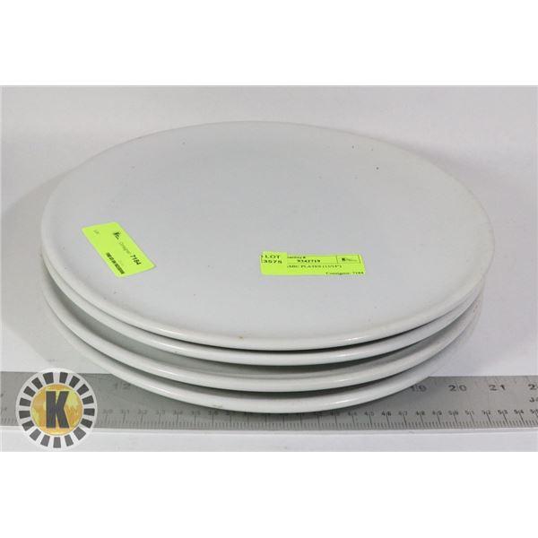 """4 1g CERAMIC PLATES (13/14"""")"""