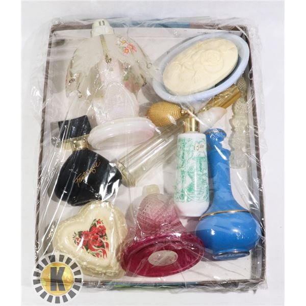 ESTATE FLAT OF GLASS COLLECTIBLES