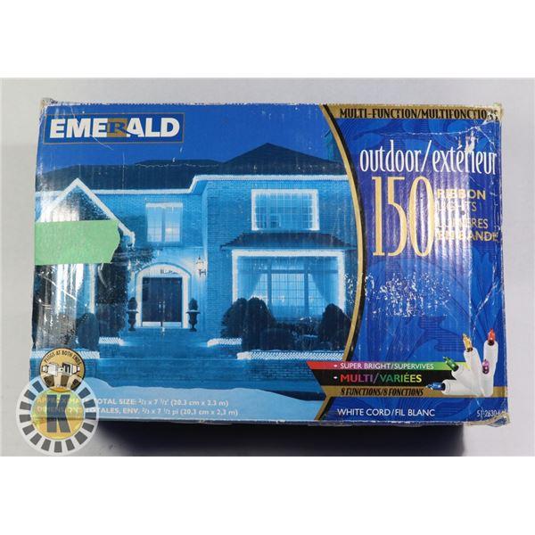 EMERALD 150 RIBBON OUTDOOR LIGHTS