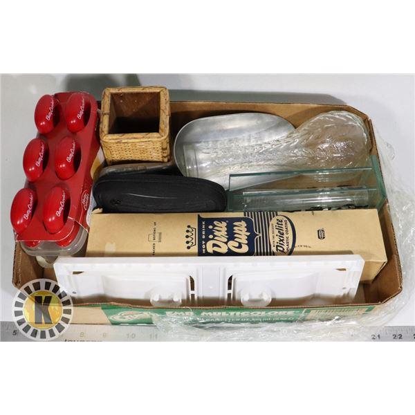 FLAT BOX OF MISCELLANEOUS I