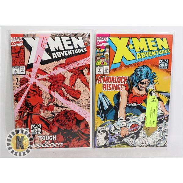 X-MEN ADVENTURES #4 & 5, HIGH GRADE