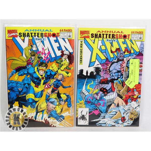 X-MEN #1 & UNCANNY X-MEN #16