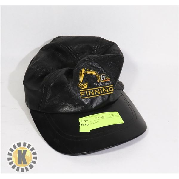1 LEATHER HAT