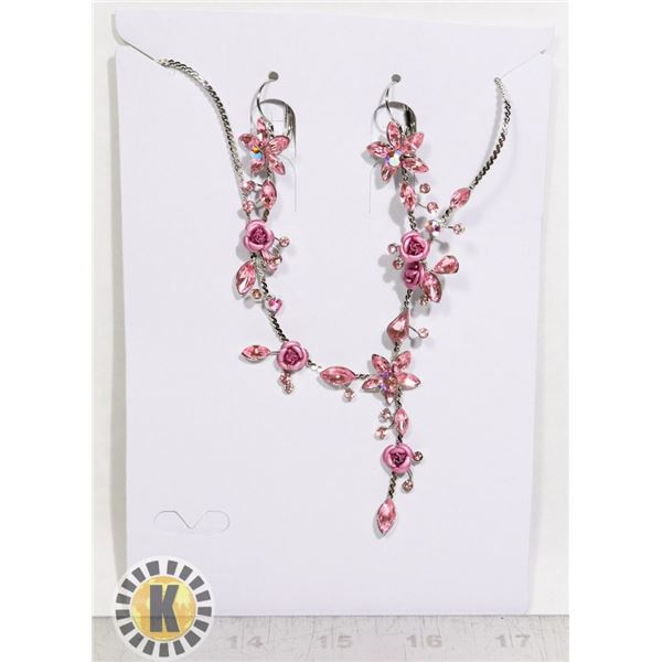 NEW FASHION JEWELRY SET NECKLACE AND EARRINGS