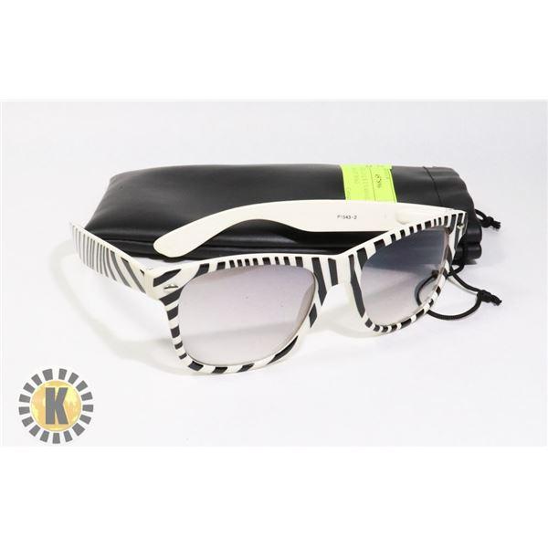 SOLAR SHIELD LX UV400 GLASSES AND STORAGE BAG