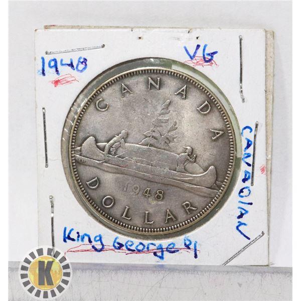 1948 CANADIAN SILVER DOLLAR