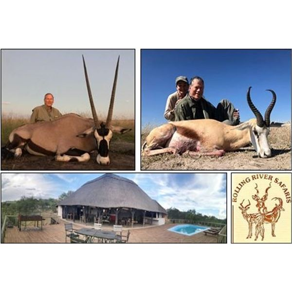 Six Days of Hunting and Touring in Namibia for Two People