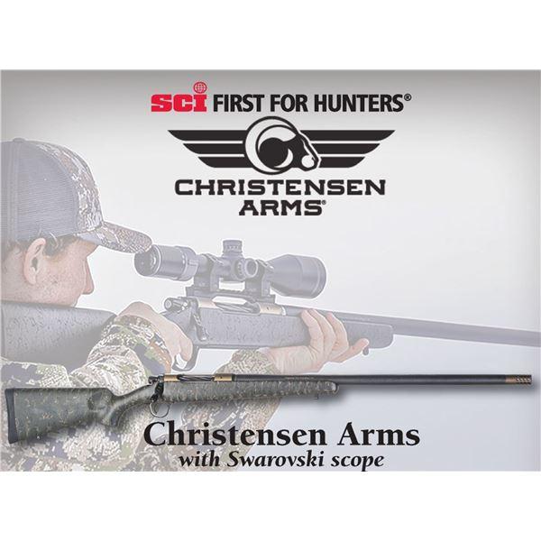 SCI Rifle of the Year - Christensen Arms Ridgeline Rifle in .300wm with Swarovski Scope
