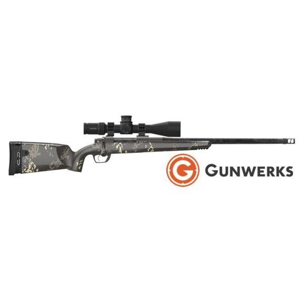 Gunwerks Magnus Rifle System and Optics, Plus Two-Day Gunwerks Long Range University