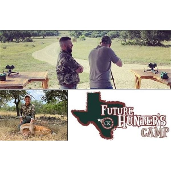 Future Hunters Camp at the Lazy CK Ranch in Texas