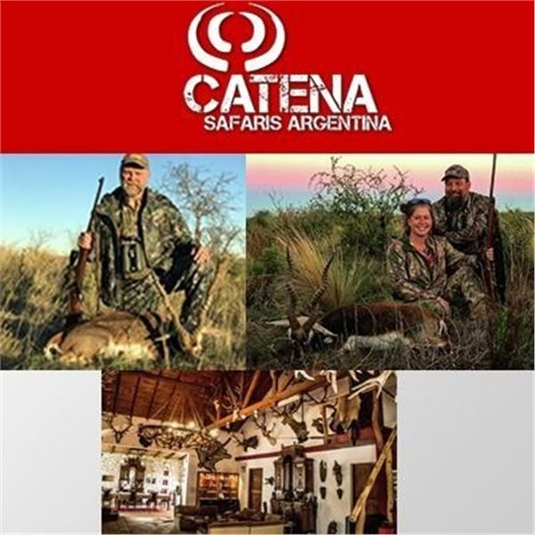 Argentina Big Game Hunt for Three People with Three Animals Included