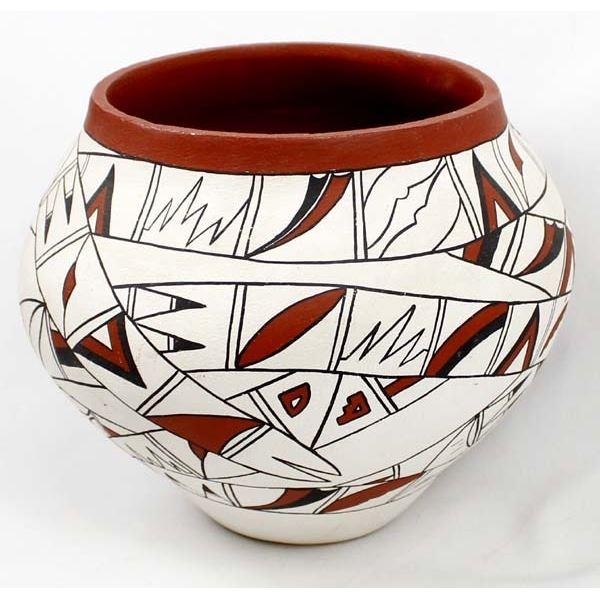 Large Jemez Pottery Olla by Melinda Toya Fragua