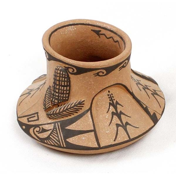 Jemez Micaceous Clay Pottery Jar, Juanita Fragua