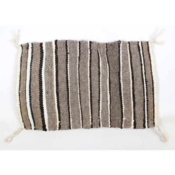 Vintage Navajo Sampler Wool Textile by M. Duncan