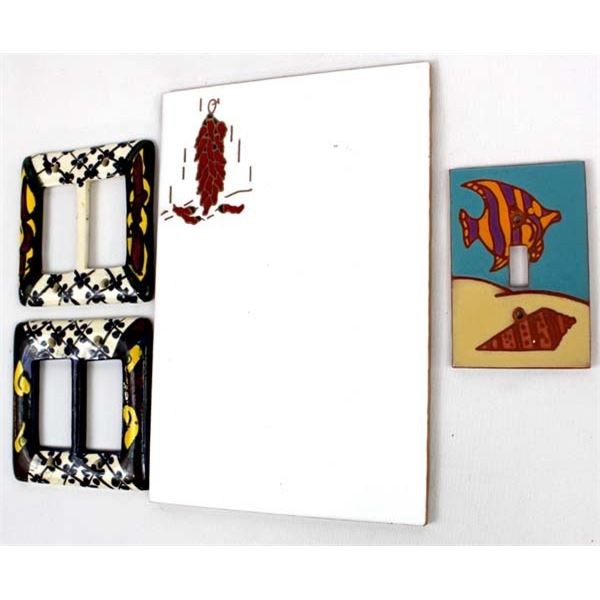 4 Ceramic Tile Items