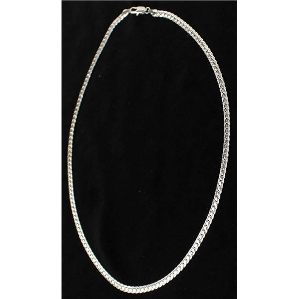 Silver Serpentine Necklace