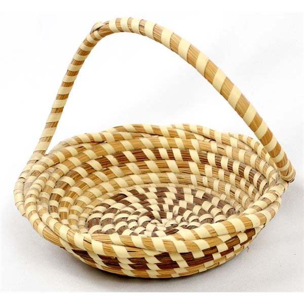 Gullah Charleston Sweetgrass Bread Basket