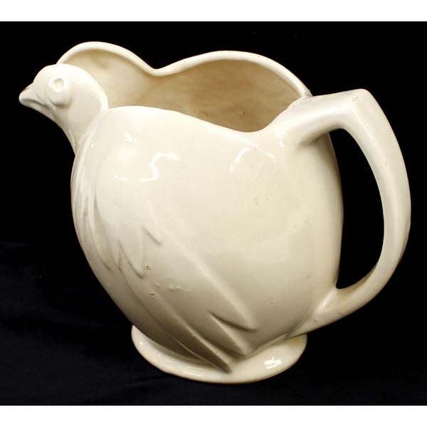 Vintage McCoy Ceramic Chicken Pitcher