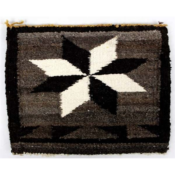 Navajo 8 Point Star Wool Textile Purse