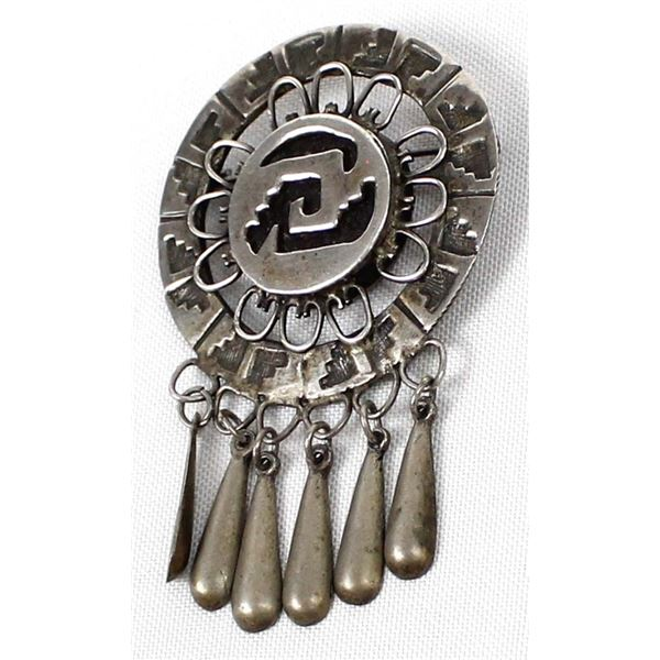 Vintage Mexican Sterling Silver Pin