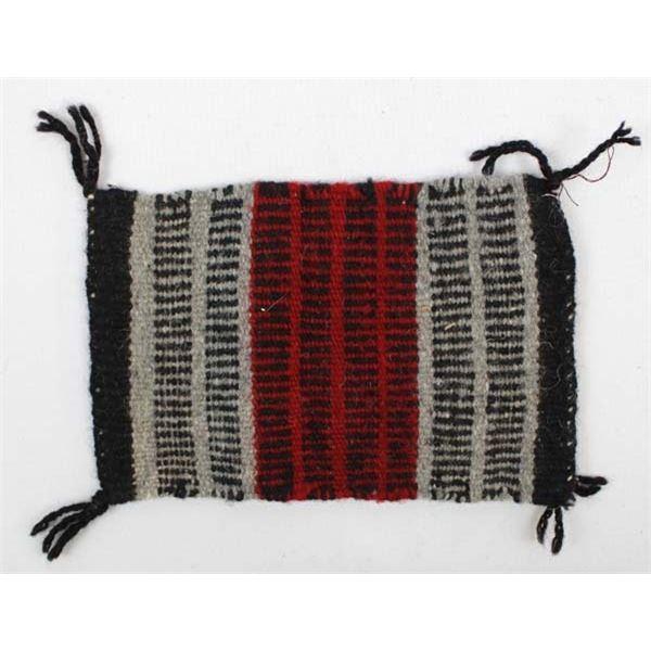 Native American Navajo Sampler Wool Textile