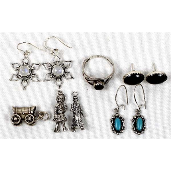 Miscellaneous Sterling Silver Jewelry