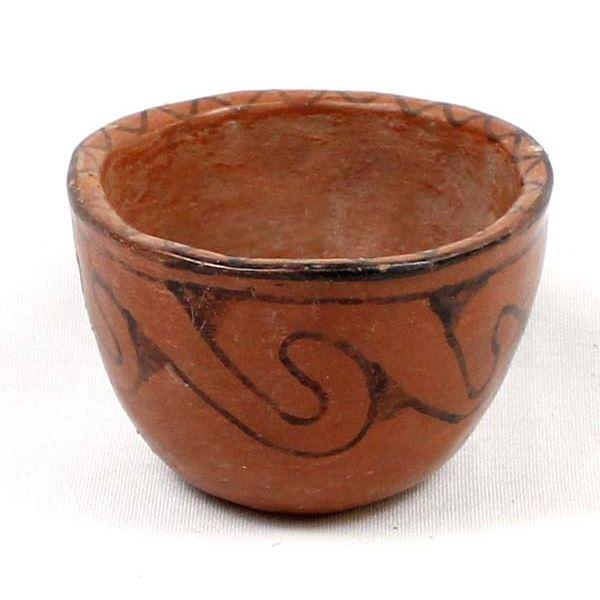 Historic Native American Maricopa Pottery Bowl