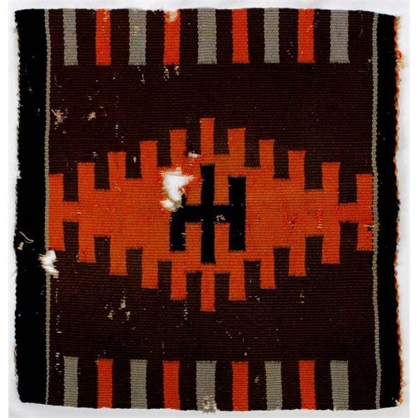 Late 1800s Navajo Germantown Wool Textile