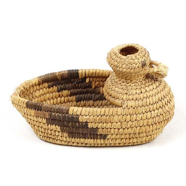 Historic Tohono O'odham Basketry Duck