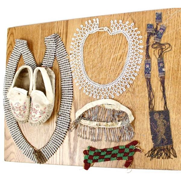 Antique Native American & Victorian Beadwork