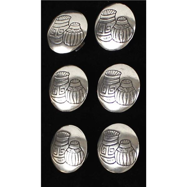 6 Southwestern Button Covers