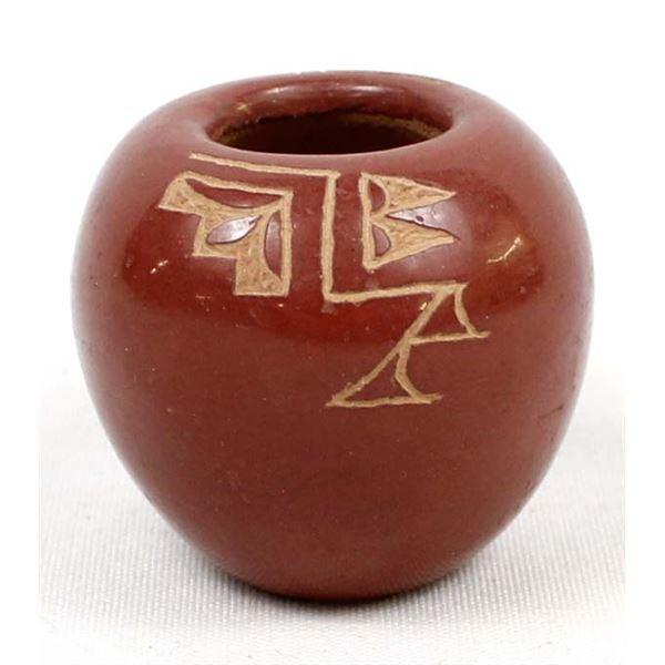 Miniature Pojoaque Pottery Bowl