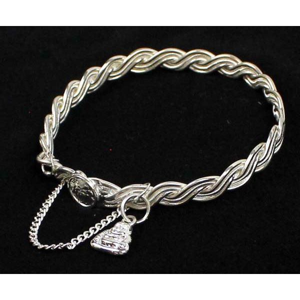 Silver Lotus Flower and Buddha Bangle Bracelet