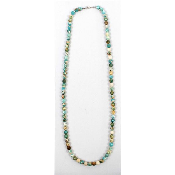 Ocean Jasper Bead Necklace
