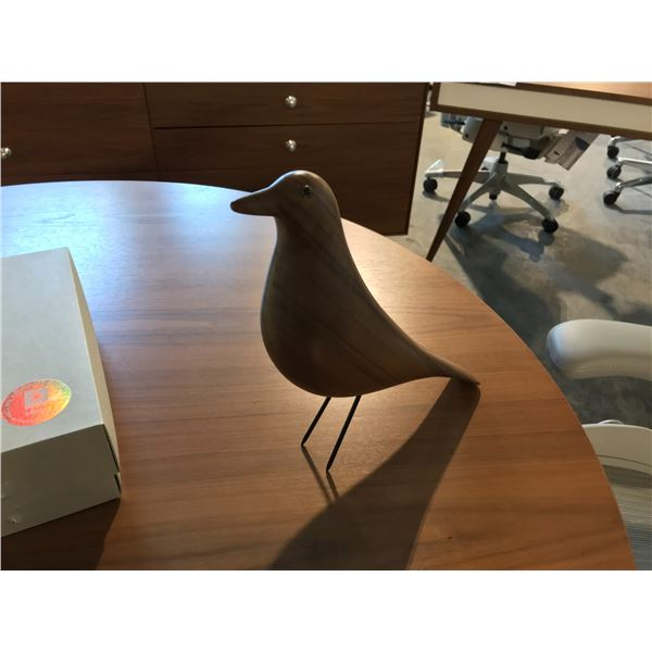 VITRA EAMES WALNUT HOUSE BIRD SUGGESTED RETAIL PRICE $510 US