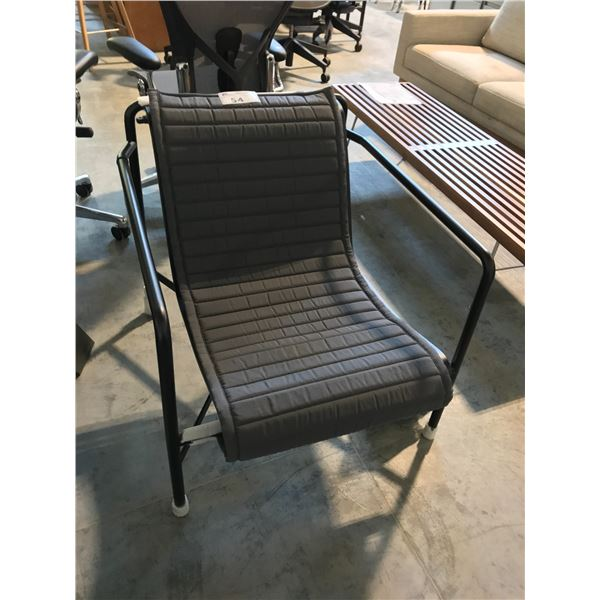 GREY /BLACK HAY PALISSADE COLLECTION LOUNGE CHAIR