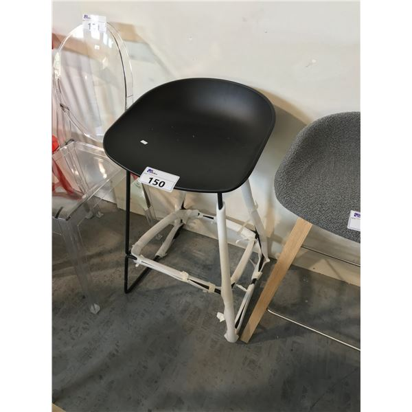 BLACK POLY TRACTOR COUNTER STOOL SUGGESTED RETAIL PRICE $1275 US