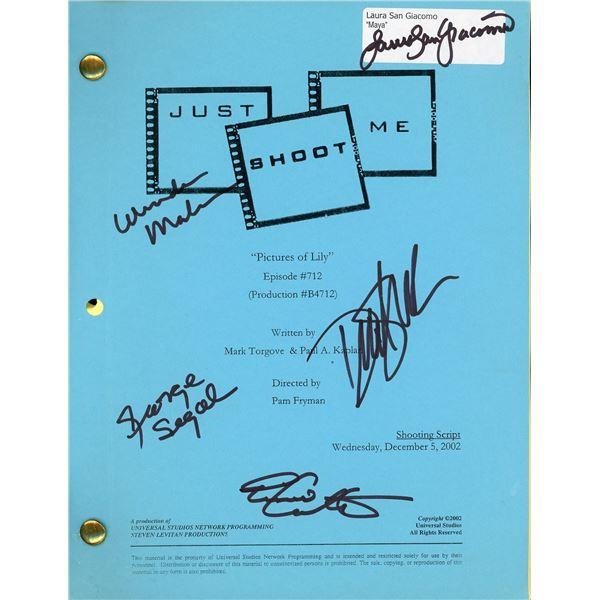 Just Shoot Me Cast Signed Script