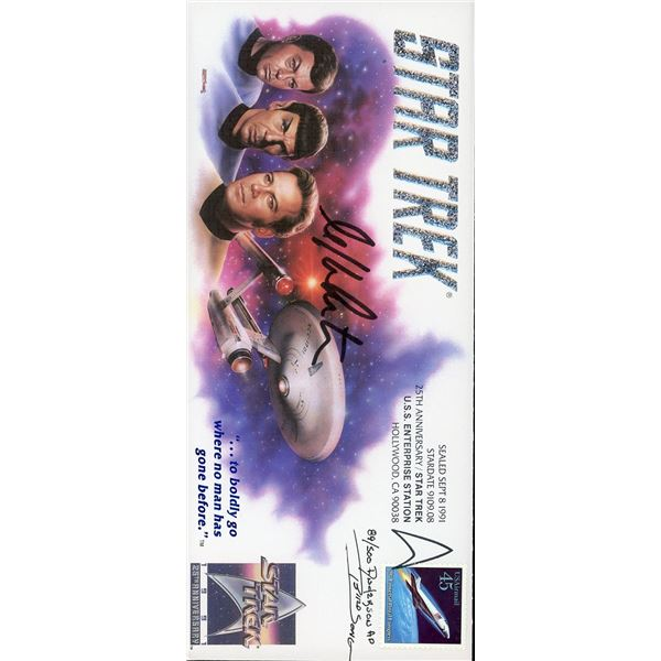 William Shatner Signed First Day Cover