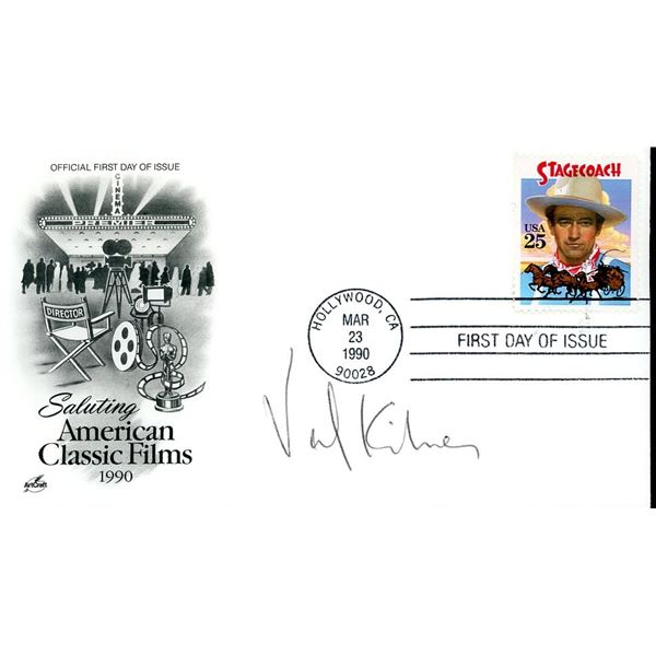 Val Kilmer Signed First Day Cover