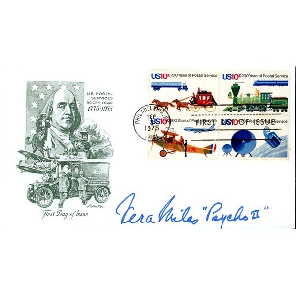 Vera Miles Signed First Day Cover