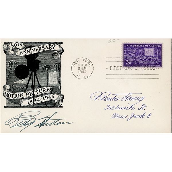 Betty Hutton Signed First Day Cover